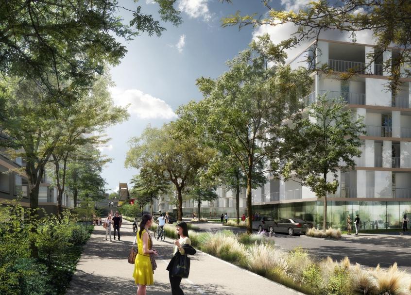 Le futur quartier des terrasses une histoire de ville for Les terrasses en ville