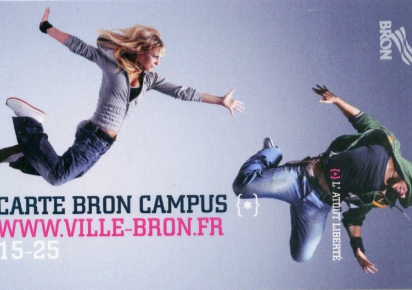 Carte Bron Campus